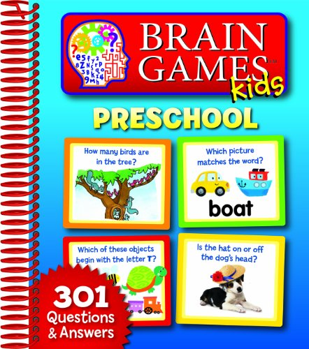 Brain Games Kids: Preschool (Board Game Development)