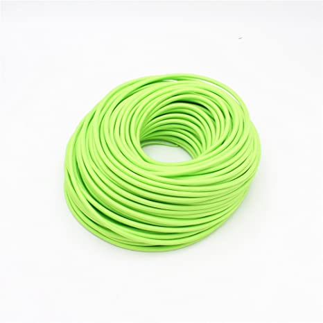 Reachyea - Cable de estilo vintage para lámpara de techo colgante - 3 mx 0,75 mm², verde