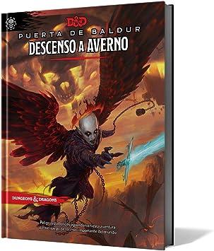 Edge Entertaiment España- D&D - Descenso a Averno - Juego de rol, Color (Dungeons & Dragons EEWCDD12): Amazon.es: Juguetes y juegos
