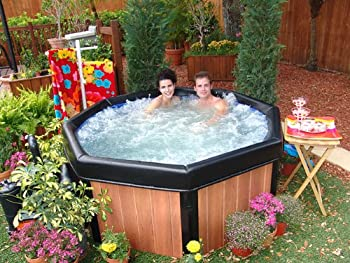 Superbe An Easy To Install Inflatable Hot Tub Is One That Does Not Need Any  Handyman To Assemble Or Build Up. This Comfort Line Box Portable Spa Is One  Of The Best ...