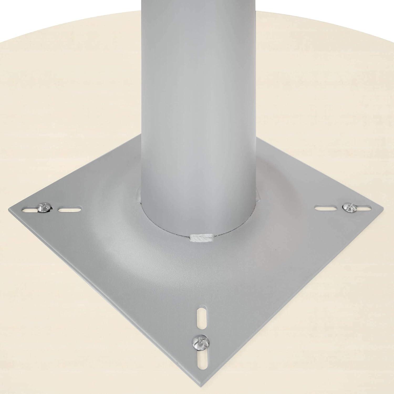WeberB/ÜRO Optima runder Besprechungstisch Esstisch K/üchentisch Tisch Ahorn Rund /Ø 120 cm