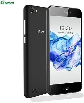 Smartphone Libre Baratos,Gretel A7 Teléfonos Móviles Libres sin Bloqueo de SIM Android 6.0 (3G, Pantalla