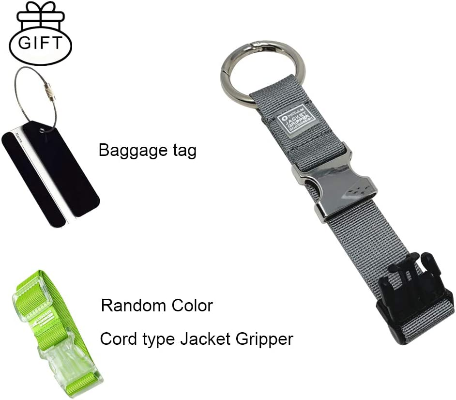 Baggage Suitcase Straps Beam Nier Luggage Strap Jacket Gripper Adjustable Belt Travel Accessories Travel Attachment