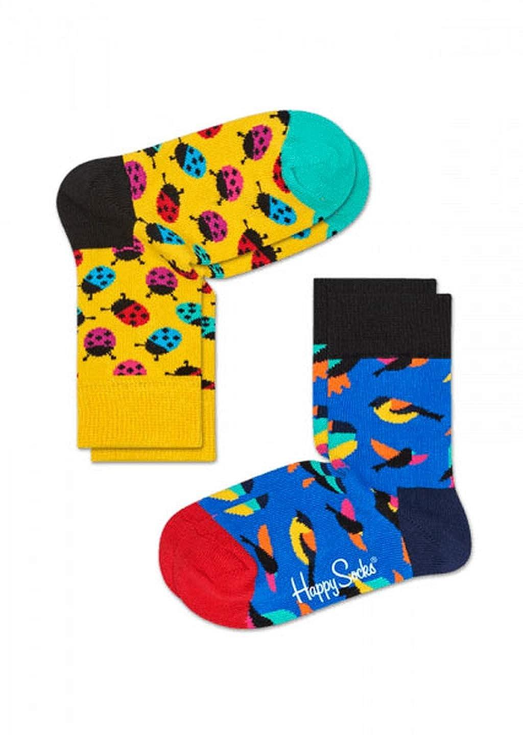 Happy Socks Calzini Collezione Moda Pack 2 Paia (4-6 Anni, 2000)