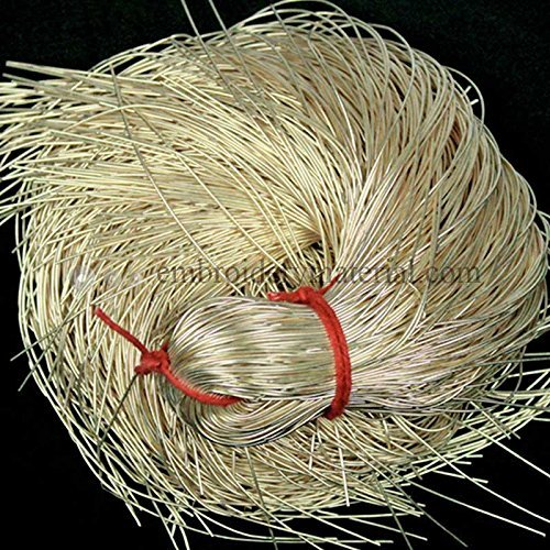 French Wire for Beading(Dabka),Light Gold Color, 1MM, 45.72 Mtr(100 Gram) (Bullion French Wire)