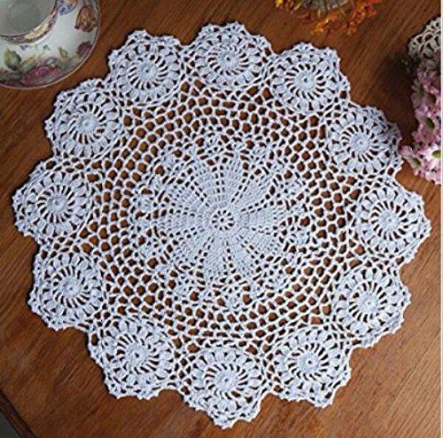cristoferv Mantel de encaje crochet tela de algodón cocina ...