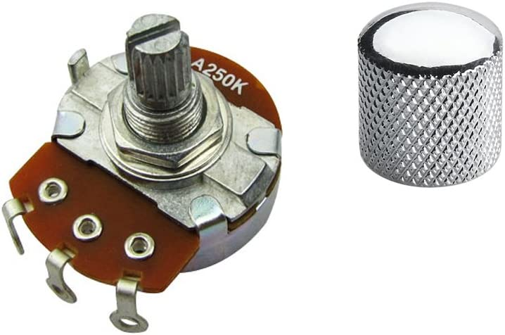 Jd.Moon Guitar Potentiometer Pot And Knob A Or B Full Size Alpha Volume