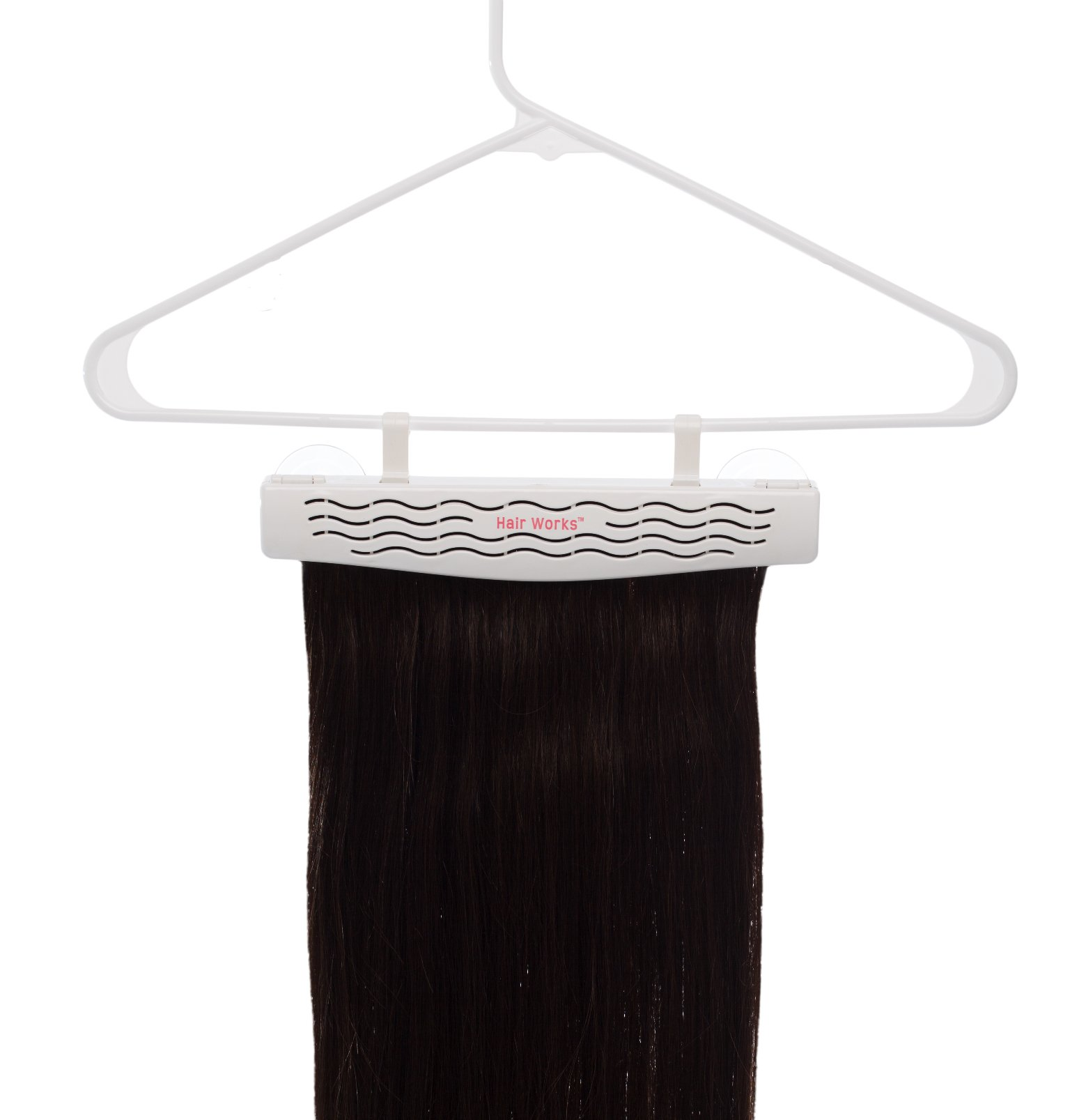 Hair Works 4-in-1 Hair Extension Style Caddy - Lightweight, Waterproof and Portable, This Hair Extension Holder Is Designed To Securely Hold Your Extensions While You Wash, Style, Pack and Store Them by Hair Works (Image #4)