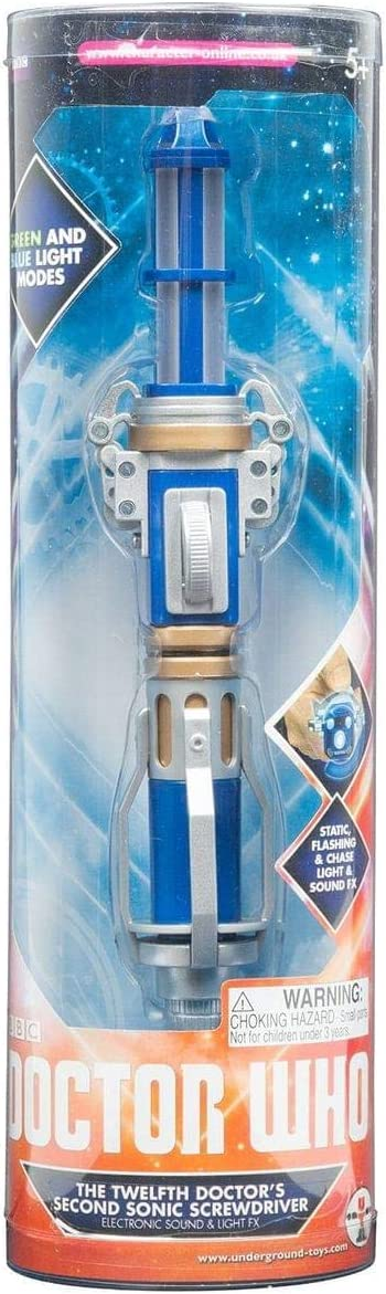 Doctor Who 12th Doctors Second Sonic Screwdriver with Lights and Sounds, 2nd Edition