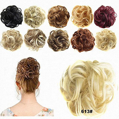 FESHFEN  Scrunchie Updo Hair Piece in Many Colors