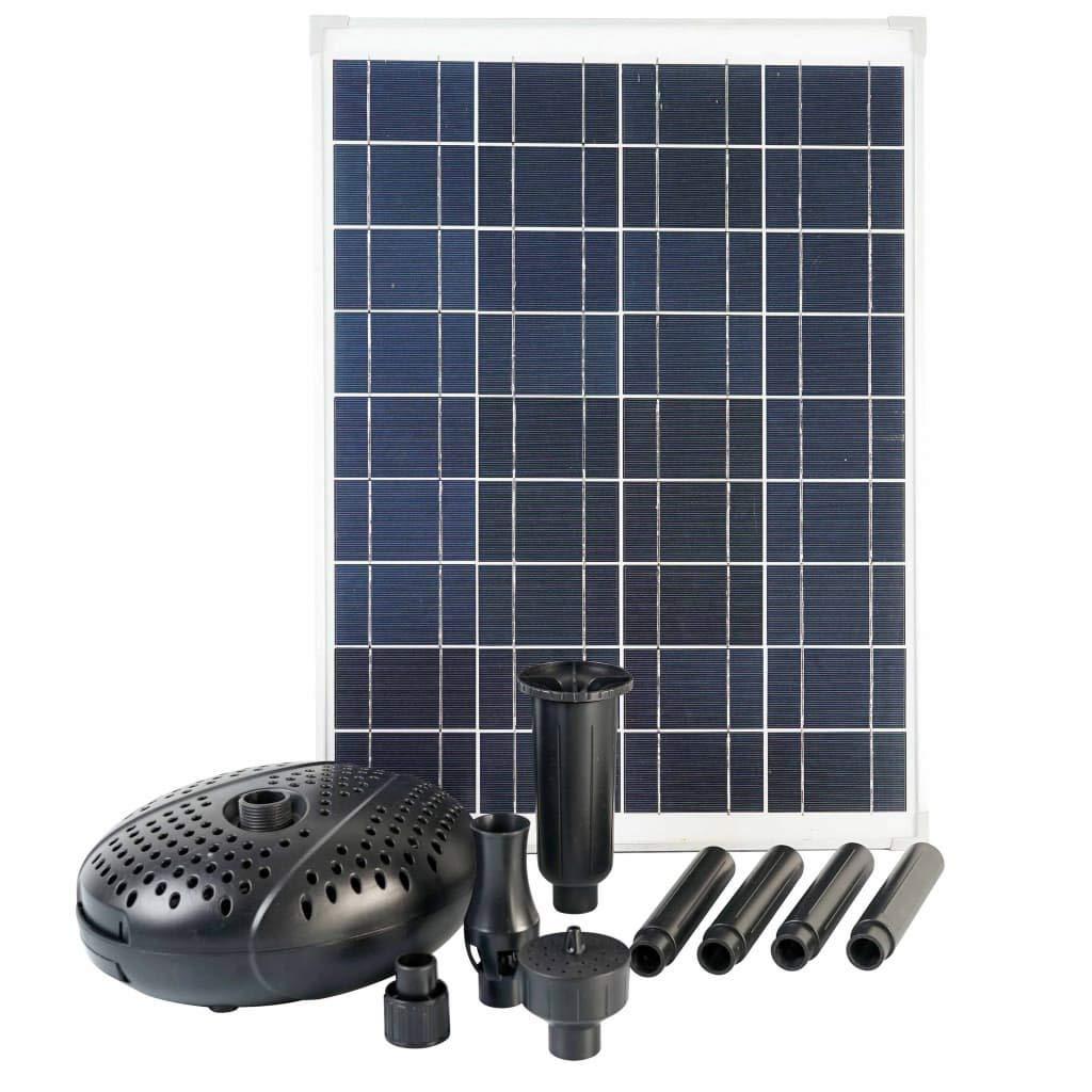 Ubbink Bomba Solarmax, con Panel Solar Incluido, 600 L ...
