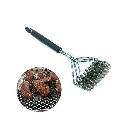 Aolvo - Cepillo de parrilla y limpiador de barbacoa – 100% resistente a la corrosión