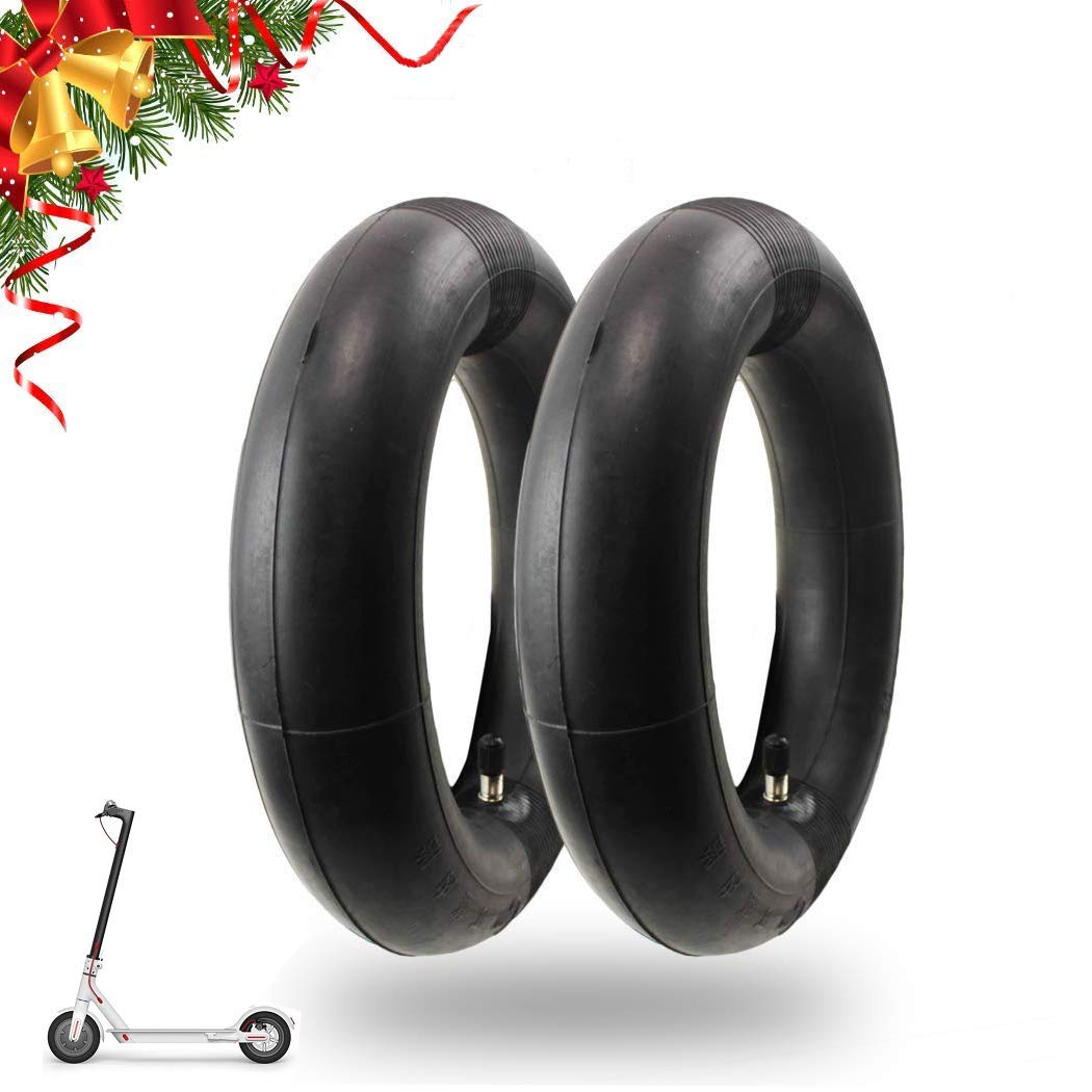 Imjoyful 2pcs 8.5-Inch Inner Tubes fit for Xiaomi M365 Electric Scooter Inflated Spare Tire - Made from Quality Butyl Rubber
