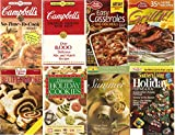img - for 6 Volumes of Cooking Booklets: Home-made Hoilday Cookies, Southern Living Holiday, Campbell's Creative Cooking with Soup, Campbell's No-Time-To-Cook Recipes, Duncan Hines Recipes & More, Land O Lakes Taste of Summer book / textbook / text book