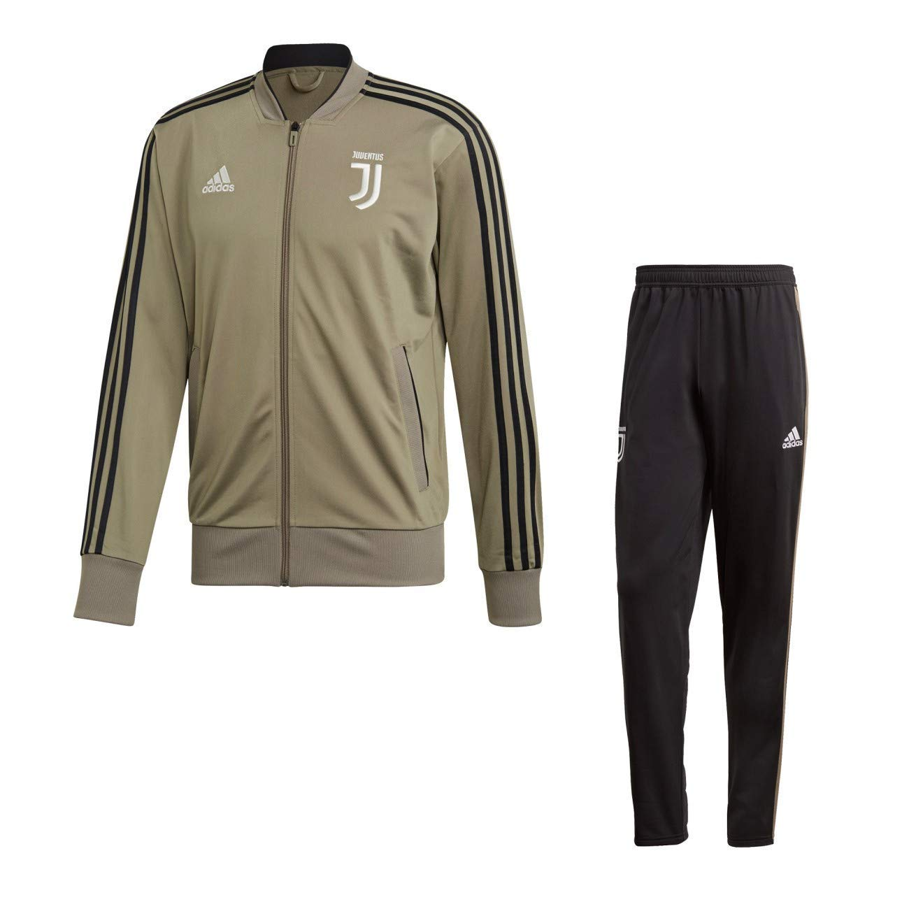 Juventus Tuta Allenamento Beige 2018 2019 Adidas Juventus FC -Adidas