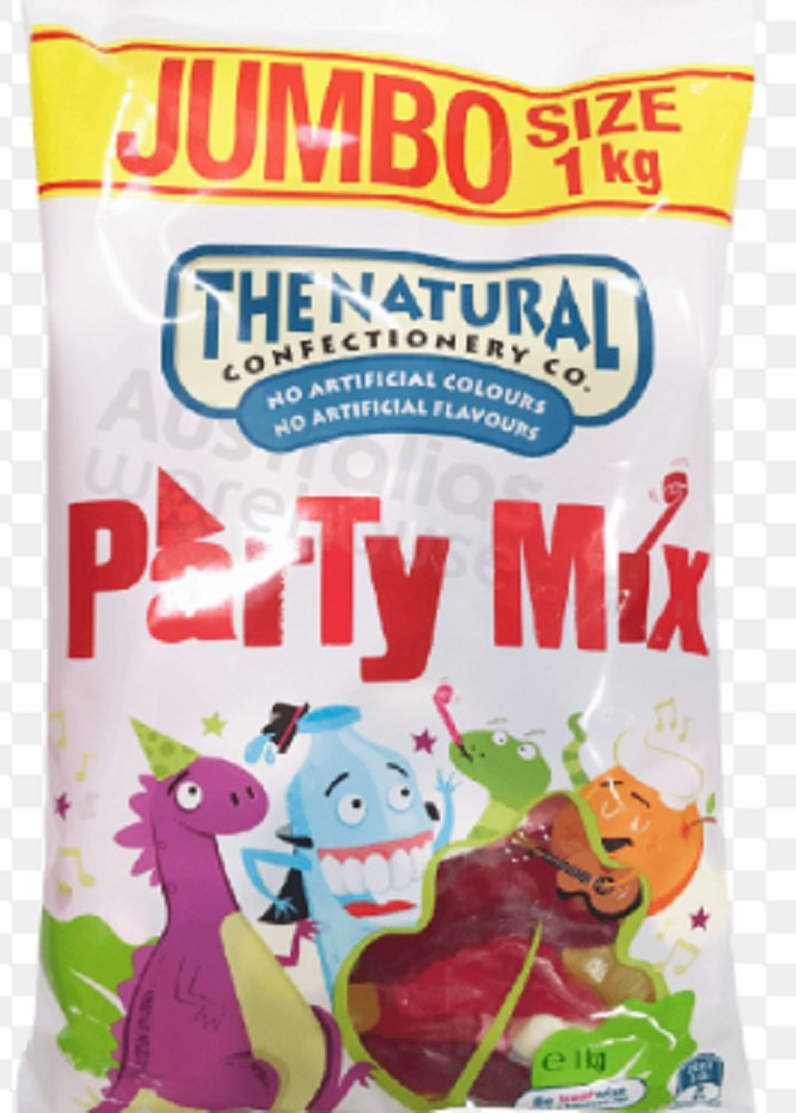 The Natural Confectionery Co Party Mix 1kg