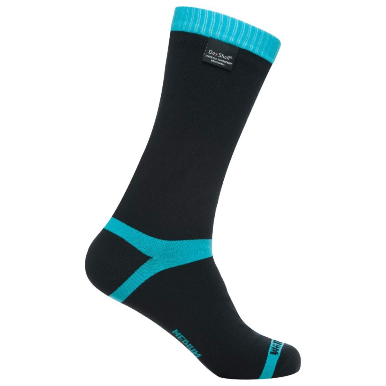 Dexshell Coolvent Mid-Calf Waterproof Socks, Aqua