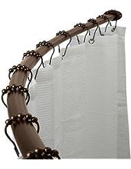 Adjustable Curved Shower Metal Curtain Rod Bath Tub Area Bathtub Accessory Oil Rubbed Bronze Pittayadomshop