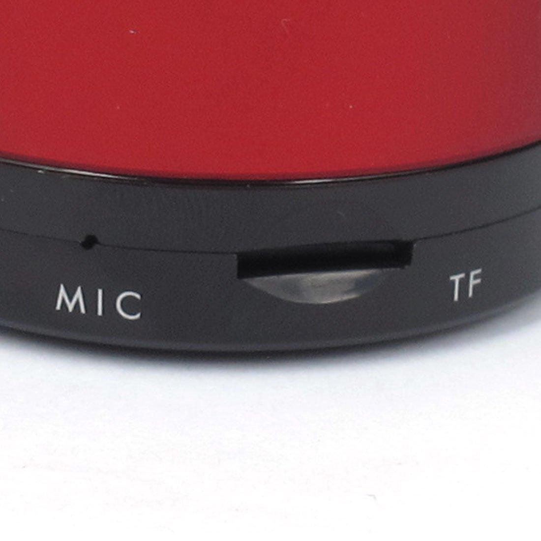 Amazon.com: MP3 Teléfono portátil Bluetooth inalámbrico recargable Mini altavoz Rojo: Home Audio & Theater