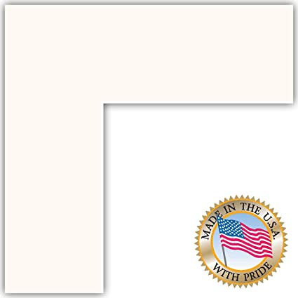 24x28 Super White Custom Mat for Picture Frame with 20x24 opening size