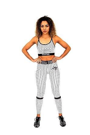 d7bbaa350 CUBAtone Women s Activewear 2 Piece Yoga Leggings Sports Bra Suit ...
