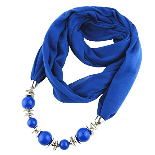 ANDAY - Bufanda - para mujer azul azul oscuro Talla única