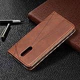 Lomogo Nokia 3.2 Case Leather Wallet Case with
