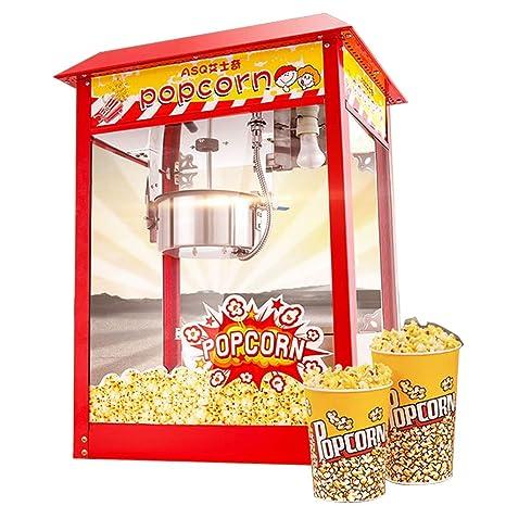 HZL máquina de palomitas de maíz retro palomitero extraíble iluminación interior 3.5 onzas