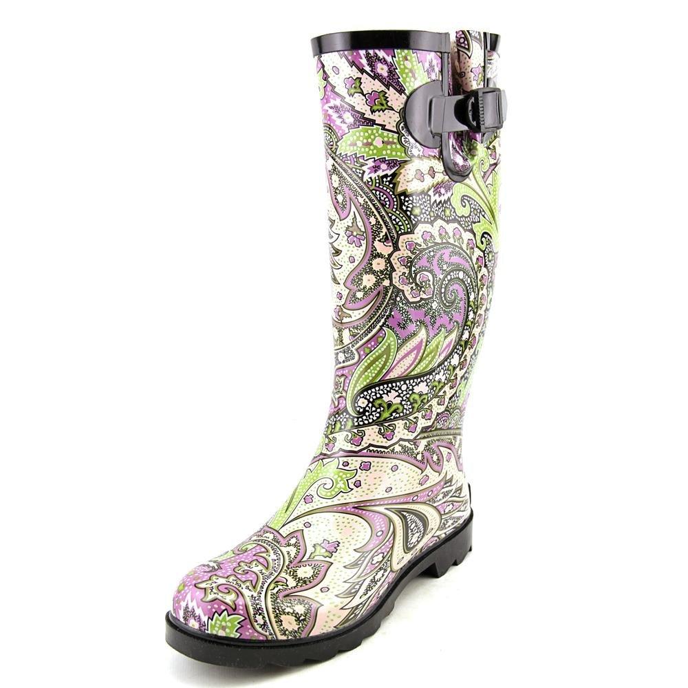 9946fea17f7 Corkys Footwear Women's Sunshine Waterproof Rubber Rain Boots