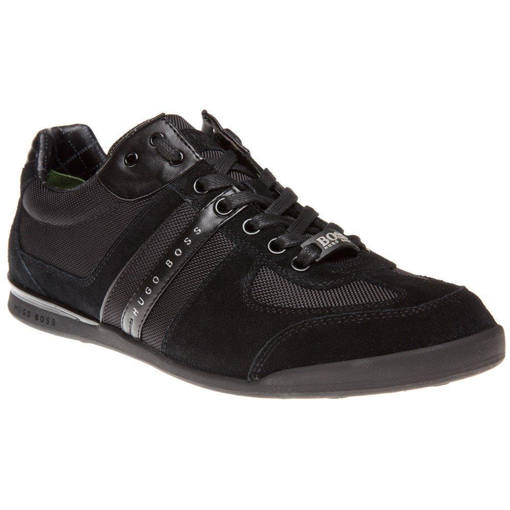 Hugo Boss Trainers - Mens 604 Akeen Trainer In Black