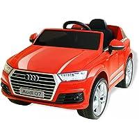 vidaXL Voiture Electrique pour Enfants Audi Q7 Plastique Rouge Véhicule Jouet