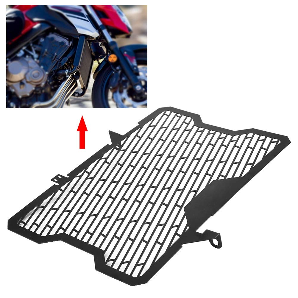 KIMISS Motorcycle Accessories Radiator Grille Guard Cover Protector for CB650F CBR650F 2014-2018