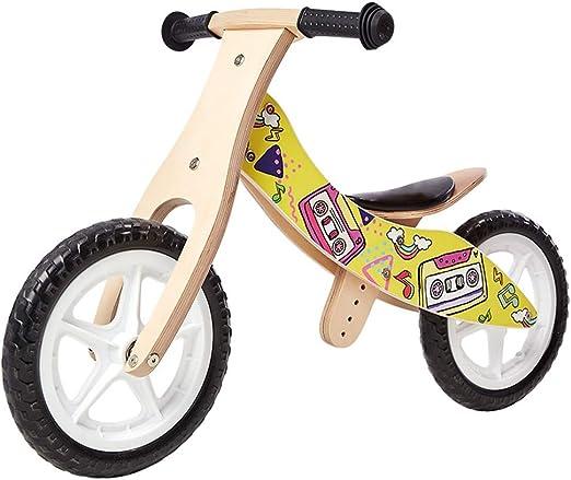 YUMEIGE Bicicletas sin Pedales Bicicletas sin Pedales,de Madera ...