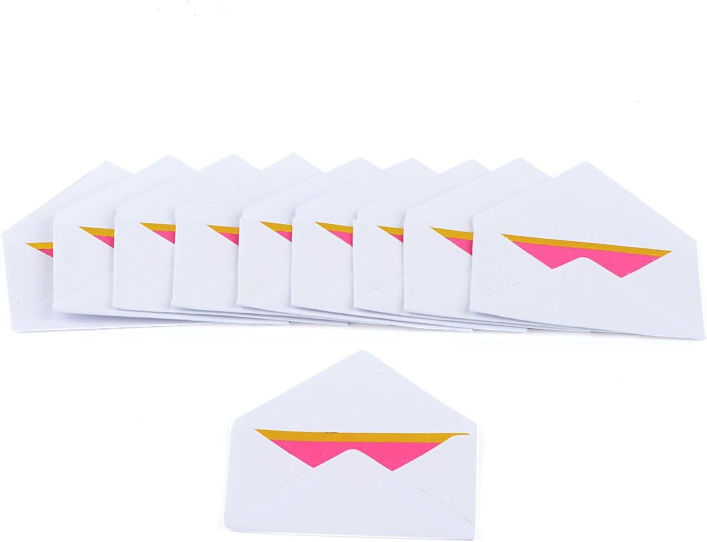 Karten und Umschl/äge T/ürkis Rico Design Mini Briefumschl/äge
