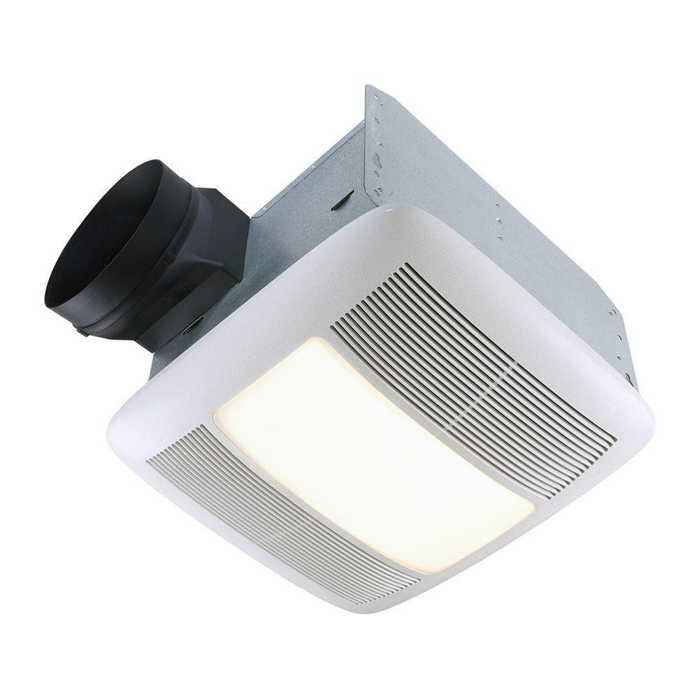 NuTone QTN110LE Ultra Silent 110 CFM Ceiling Exhaust Bath Fan Light And  Nightlight   Built In Household Ventilation Fans   Amazon.com