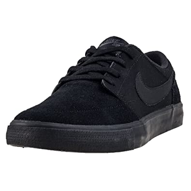 3aab576ae96 Nike SB Portmore II Solar - Black Black-Anthracite  Amazon.co.uk  Shoes    Bags