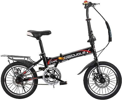 Bxiao Bicicleta Plegable para niños, 7-8-10-15 años, Bicicleta para niños Grandes, niño Escolar, Bicicleta: Amazon.es: Deportes y aire libre