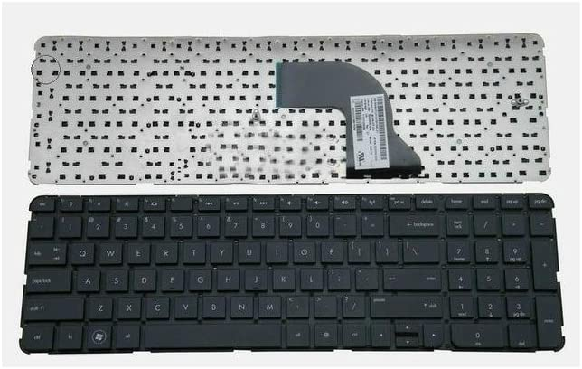 Replacement Keyboard Without Frame For HP Pavilion dv7-7027cl dv7-7030us dv7-7047cl dv7-7051xx dv7-7073ca dv7-7115nr dv7-7121nr dv7-7126nr, US Layout Black Color