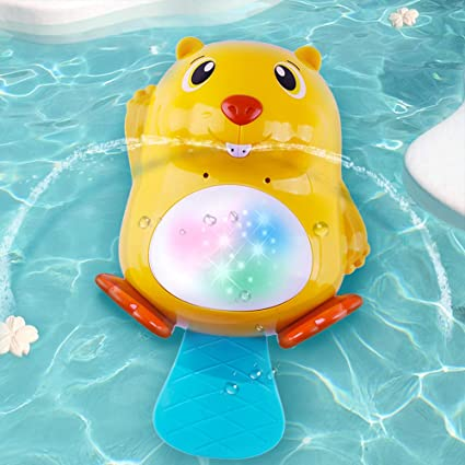 Bathroom LED Light Toy Kid ColorChanging Toys Waterproof In Tub Bath Time Fun BR