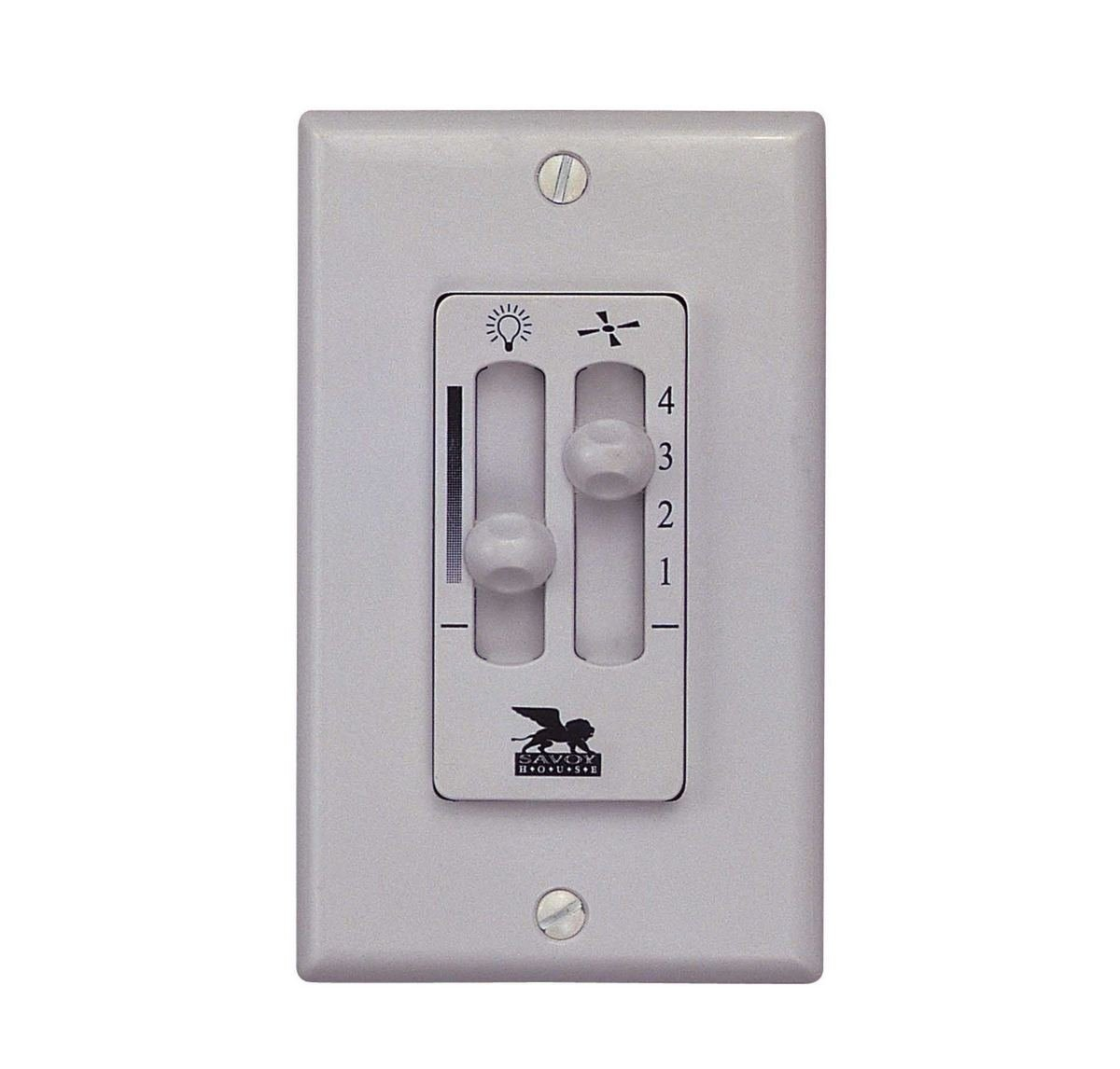 Savoy House WLC600 Fan/Light Wall Control
