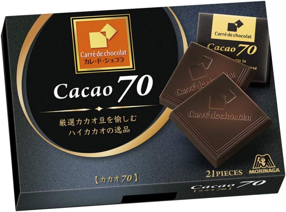 森永製菓 カレ・ド・ショコラ カカオ70