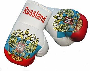 Mini Boxhandschuhe Russland 1 Paar 2 Stück Miniboxhandschuhe Z B Für Auto Innenspiegel Auto