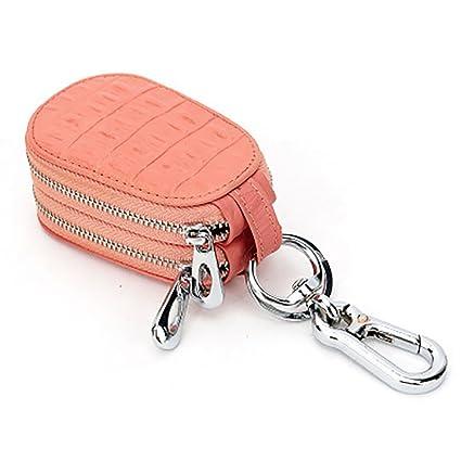 Amazon.com  Car Key case Genuine Leather for Mens Womens Bag ... 95a0cc3929