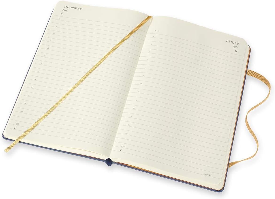 Agenda Planner 12 Mois Edition limit/ée Peanuts Collection Snoopy et Schroeder 144 Pages Agenda de Poche Couverture Rigide 9 x 14 cm Moleskine Agenda Semainier 2021