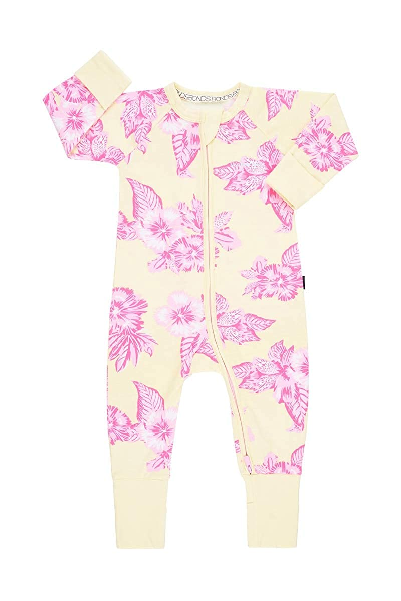 Aloha Vibes Banana Cream, 6-12 Months Bonds WONDERSUIT Zippy