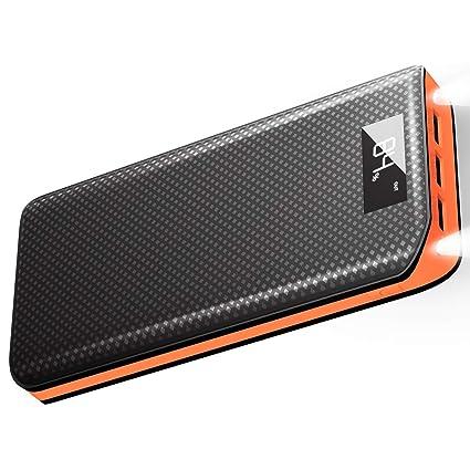 Amazon.com: X-DRAGON - Batería externa compacta de 20000 mAh ...