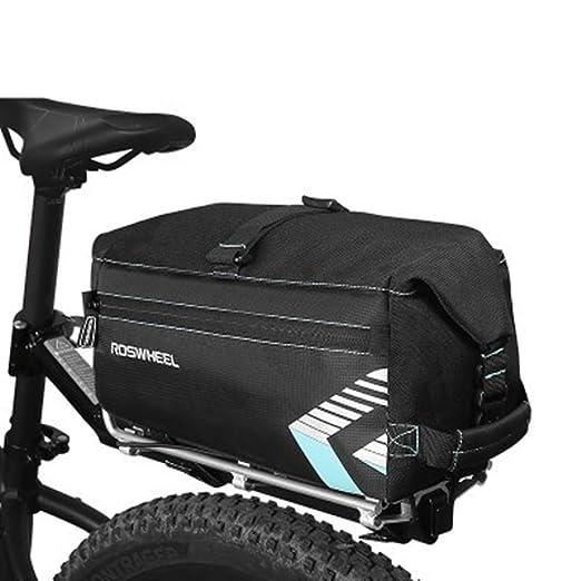 Bangxiu-Bike Bag Bolso de alforjas de Bicicleta, Alforja para ...