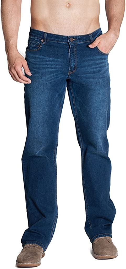 Barbell Apparel Men's Athletic Fit Jeans As Seen On Shark Tank
