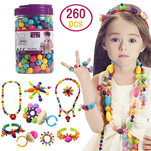 Kids Pop Snap Beads Set