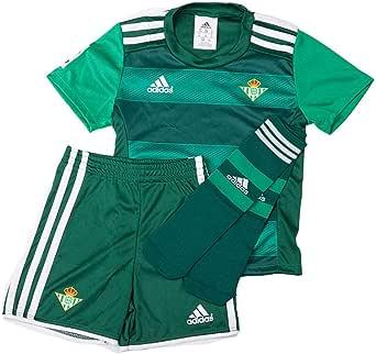 adidas Betis A Minikit Conjunto Real Betis Balompie 2015-2016 Unisex niños